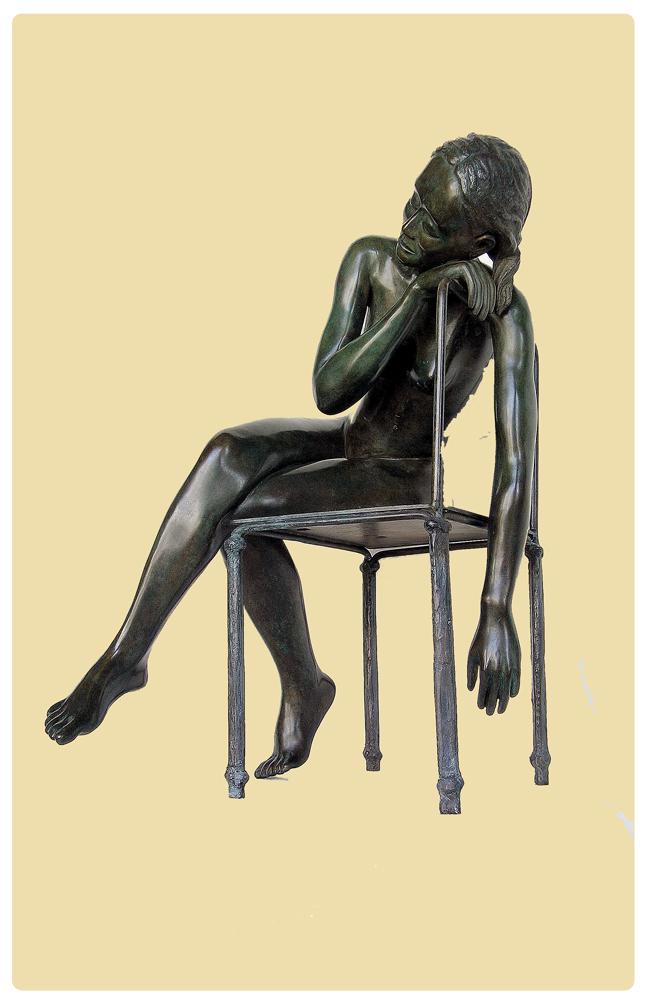 Pose a la chaise